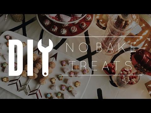 DIY No Bake Treats // 8 Valentine's Day Sweet Ideas!