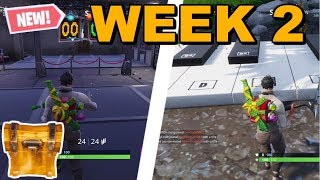 WEEK 2 CHALLENGES CHEAT-SHEET! (SEASON 7 FORTNITE)