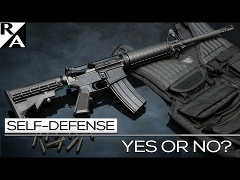 RIGHT ANGLE: SELF DEFENSE YES OR NO?