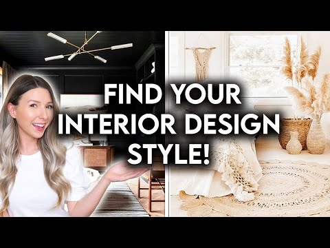 10 INTERIOR DESIGN STYLES EXPLAINED | FIND YOUR DESIGN STYLE 2021