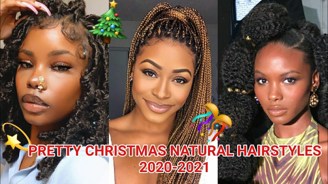 Hairstyles Christmas 2021 Trendy And Pretty Natural Hairstyles For Christmas 2021 That Will Turn Heads Youtube