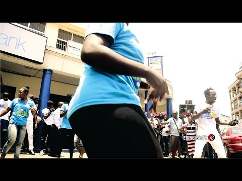 Crazy Street Dance in Ghana W/A