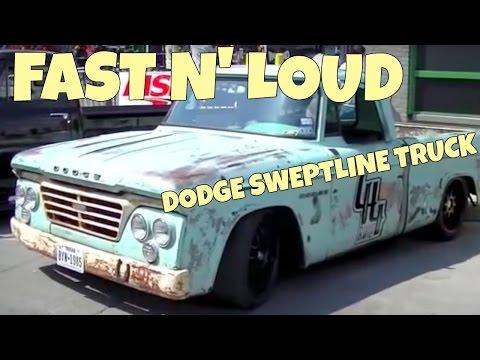 fast n 39 loud dodge sweptline truck gas monkey garage funnycat tv. Black Bedroom Furniture Sets. Home Design Ideas