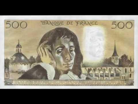billet de banque pascal