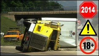 Repeat youtube video CRAZY Truck Crashes, Truck Accidents compilation - Part 6