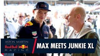 The Racing Collection   Max Verstappen meets music legend Junkie XL