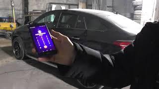 Автозапуск Mercedes GLE. Автозапуск FBS4