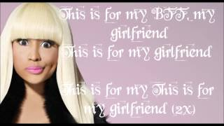 My Girlfriend Lyrics Nicki Minaj