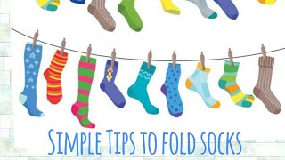Types of folding socks - How to fold socks - Simple Tips