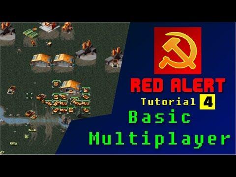 Red Alert Tutorial no4 Basic Online Multiplayer -CNCNET