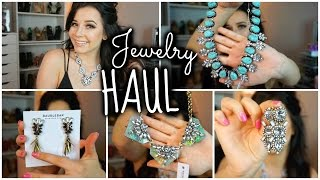 Jewelry HAUL Special Occasion + Prom!