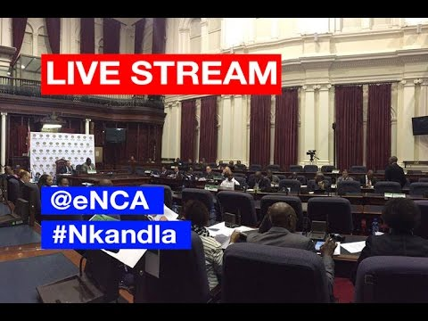 LIVE: Ad hoc committee's feedback on Nkandla