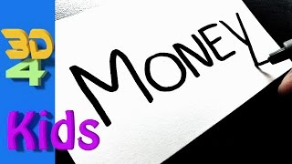 Turn word into cartoon  very Easy !  MONEY  wordtoon #32