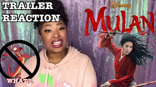 I wasn't expecting that AT ALL 😤😱 - MULAN Live Action Trailer Reaction