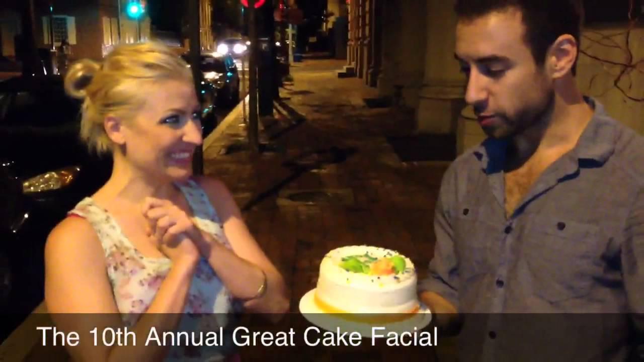 Cake Face Smash - YouTube