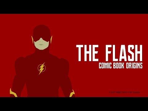 Justice League - The Flash Comic Book Origins