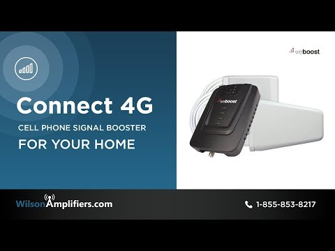 weBoost Connect 4G Cell Phone Booster Kit - 470103