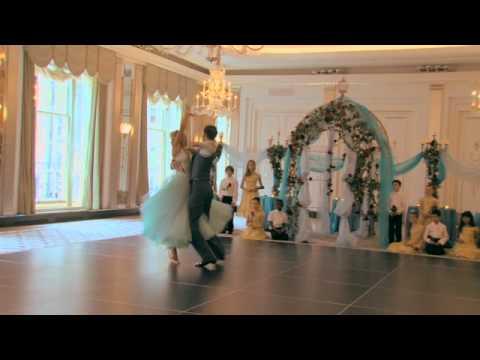 Natalie Lowe and Ian Waite recreate classic scene from Beauty and the Beast