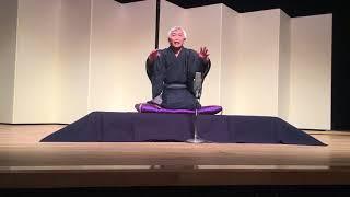 2018年1月27日参遊亭落語会の高座です。三鷹の武蔵野芸能劇場。