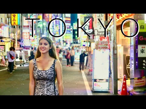 First Time in Tokyo!
