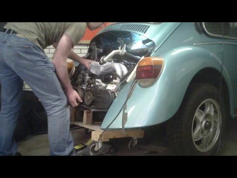 Installing an Alfa Romeo boxer engine into a VW beetle