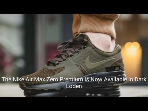 air max zero premium dark loden