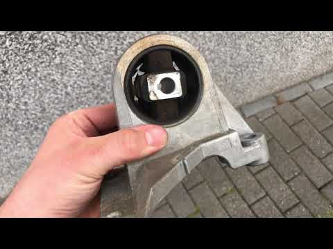 How to change an upper engine mount Volvo V70 motor mount replacement Volvo 850 DIY