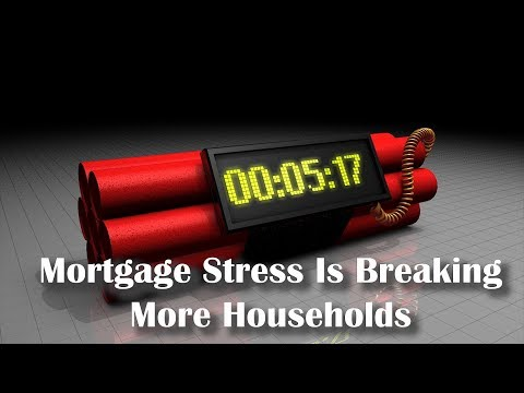 Mortgage Stress Is Breaking More Households