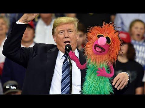 "Trump and Mahna Mahna sing ""anonymous"""