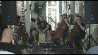 Apocalyptica comes into the KOMP 92.3 studios in Las Vegas and does...