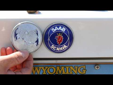 Replacing the Badges on My 2000 SAAB 9-5 (SAAB Emblem / Logo Replacement)