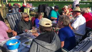 Heiligabend auf Camping Roche in Conil 2017