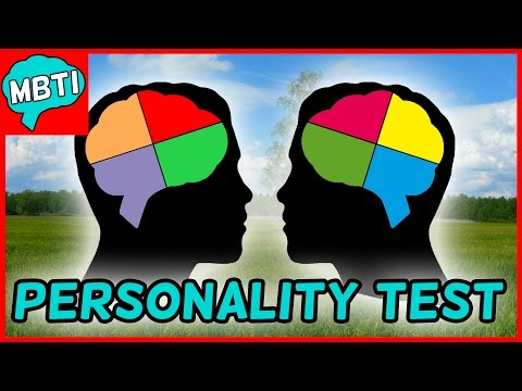🎭THE FAMOUS MYERS-BRIGGS PERSONALITY TEST🎭 - WHAT'S YOUR PERSONALITY TYPE?