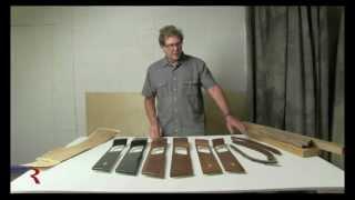 Range Rover Sport Wood Interior Trim before Refinishing