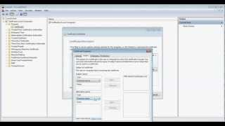 How to Create an SSL Certificate for SQL Server installations(This video shows how to create a certificate request file that will allow you to encrypt SQL Server network traffic using SSL encryption. The explanation to this ..., 2013-04-02T16:29:09.000Z)