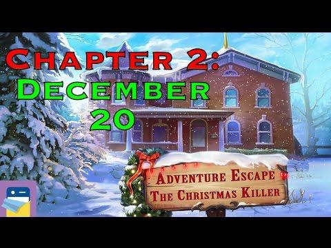 Adventure Escape The Christmas Killer: Chapter 2 December 20 Walkthrough (Haiku Games)