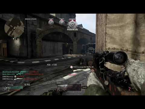Quad Feed Sync Shot - COD WWII