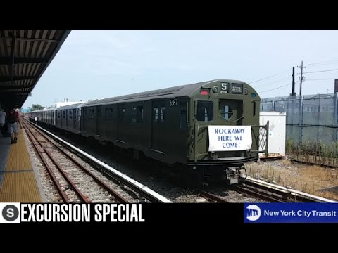 "MTA NYCT: ""Train Of Many Metals"" (Excursion) Train (Rockaway Park-Bound)"