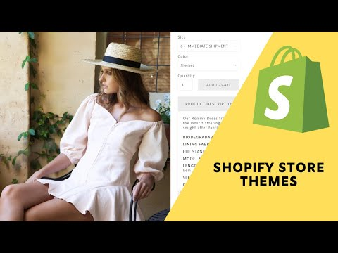 Shopify Overview:   A look at the available themes for your eCommerce store