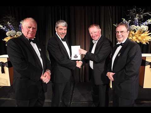 NZEE Awards: Doug Heffernan receiving the William Pickering Award for Engineering Leadership