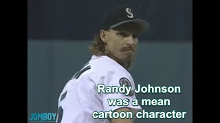 Randy Johnson comes out of the pen in game 5 of the ALDS, a breakdown