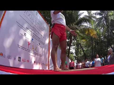 Senior Iyengar Yoga Teacher Zubin Zarthoshtimanesh at Kaivalyadham