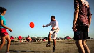 Freestyle Frisbee: 2013 Beach Weekend