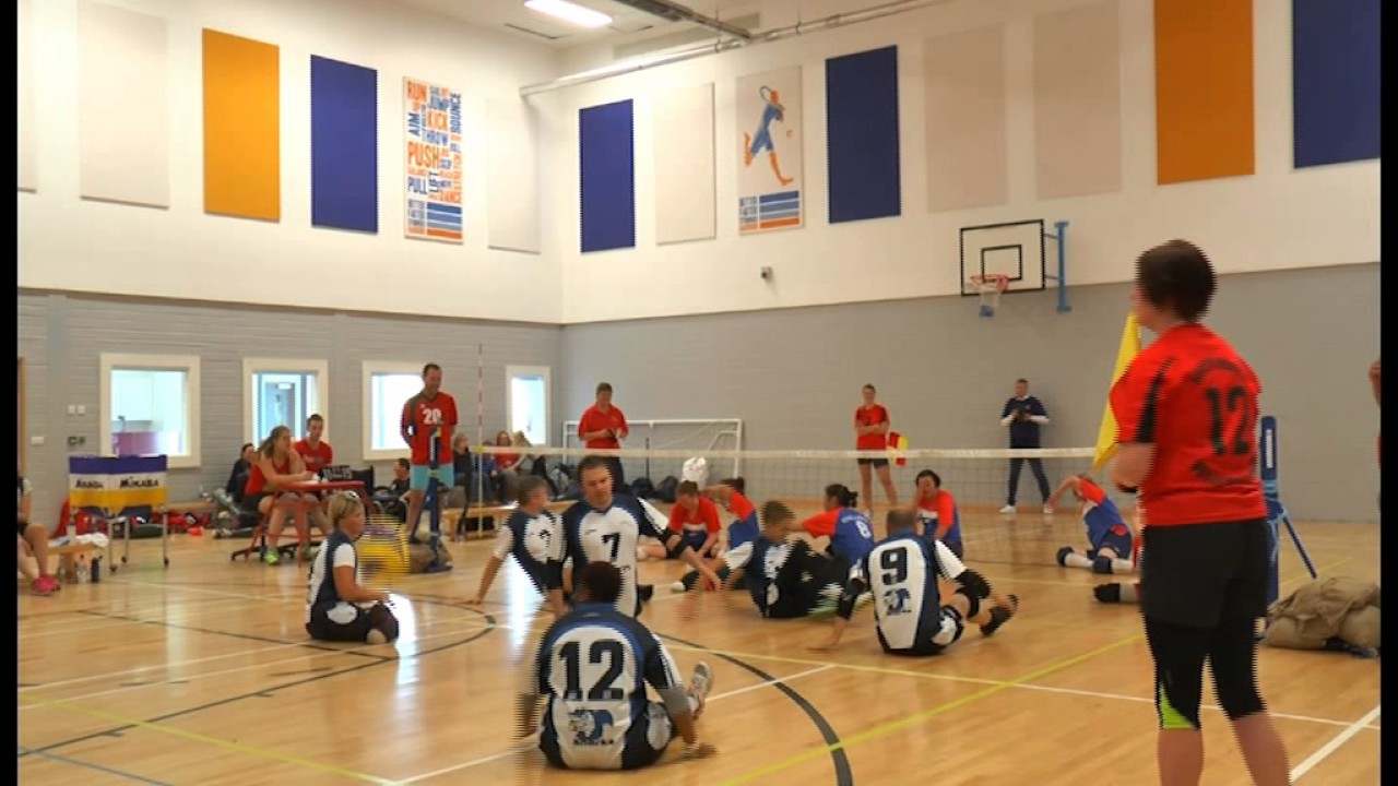 wheelchair volleyball chairs for living room in ghana team gb seeking more sitting players youtube
