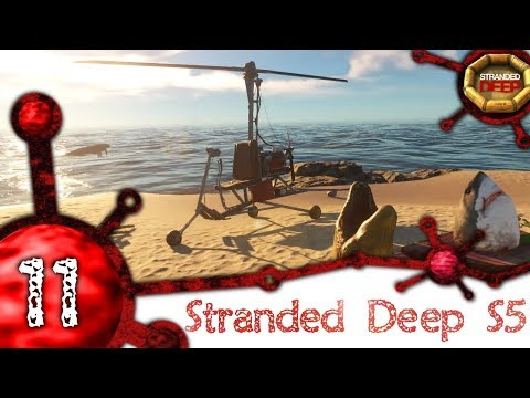 Stranded Deep [S5-11] - How to craft your own Gyrocopter in Stranded [1080p-60fps]