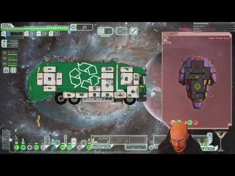 FTL Hard Mode, WITH Pause, Viewer Ships! Literally Trash...ship!