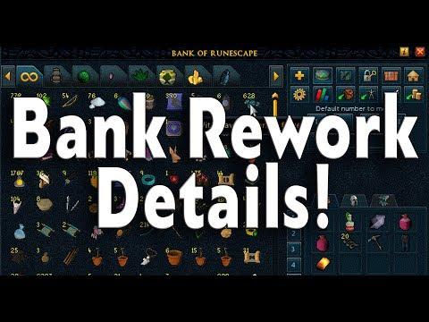 Runescape 3 Bank Rework - Placeholders/UI Changes!