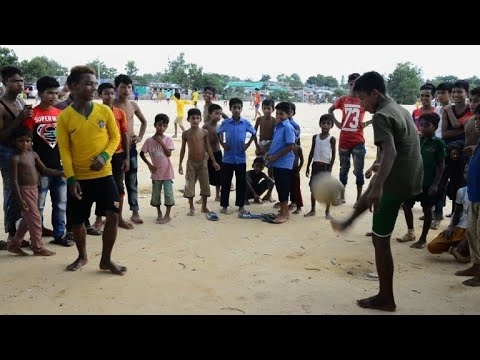 AFP news agency: World Cup fever still raging in Rohingya refugee camps