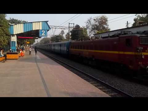 Sealdah-Balia Express hauled by SER