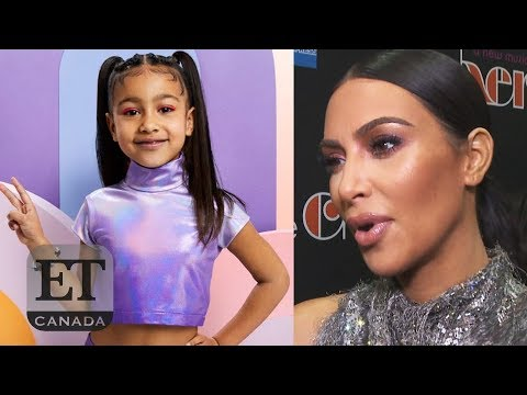 Kim Kardashian Reacts To North West's First Mag Cover